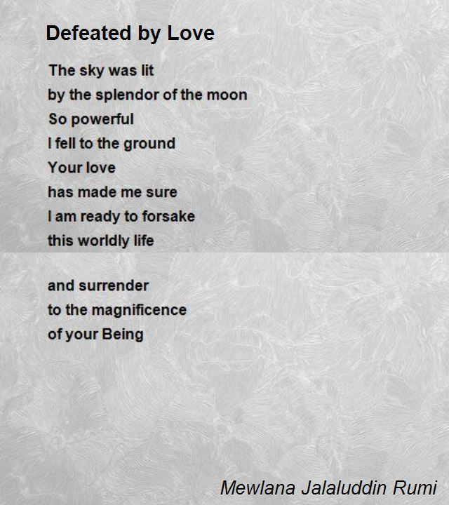 Image result for rumi poems love | POETRY | Pinterest | Poem