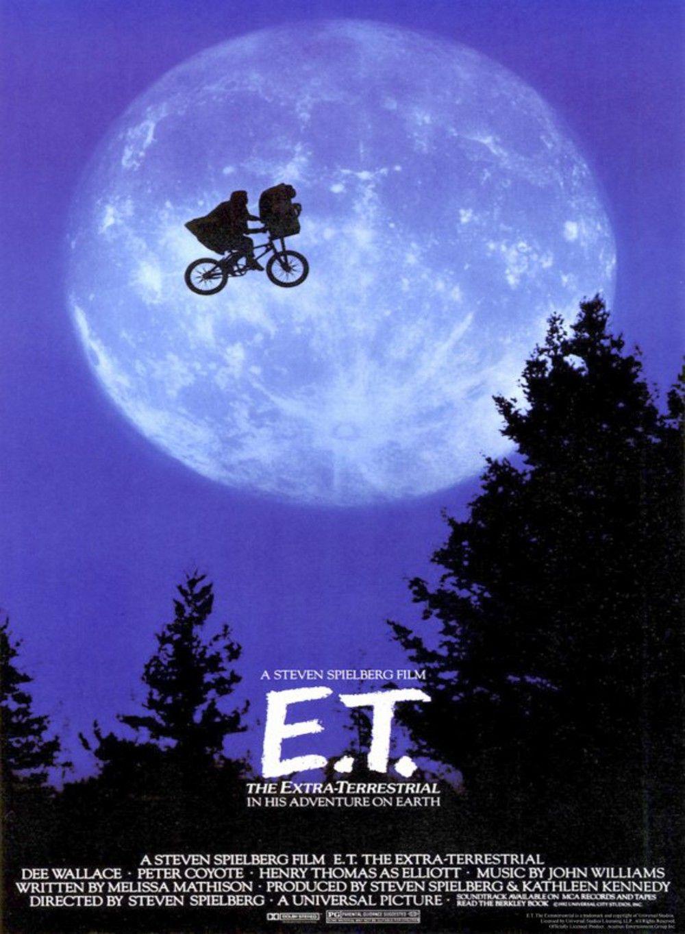Affiches Posters Et Images De E T L 39 Extra Terrestre 1982 Films Retro Vieux Film Film