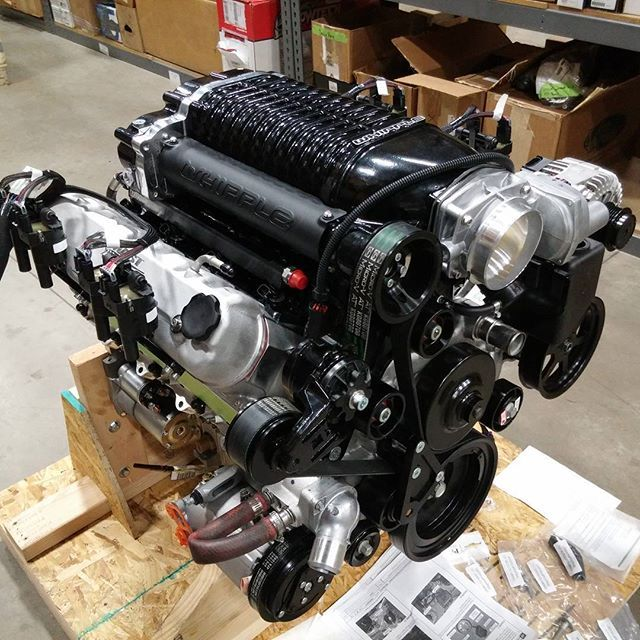Supercharged perfection ready to go to its new home! LS7 427 Black ...