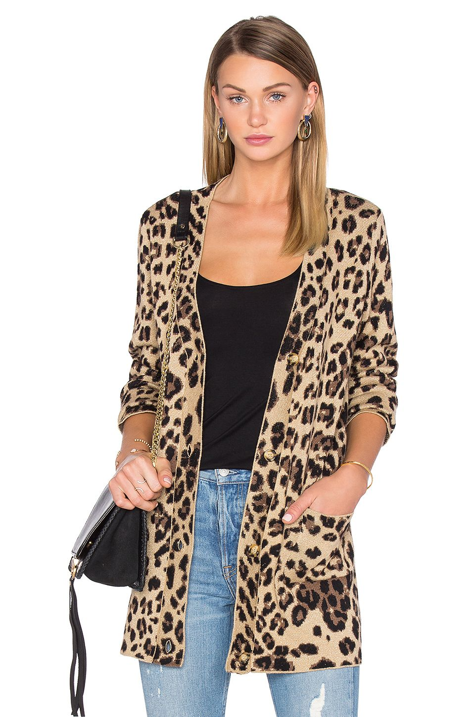 Leopard print cardigan. House of Harlow #REVOLVE love | Wardrobe ...