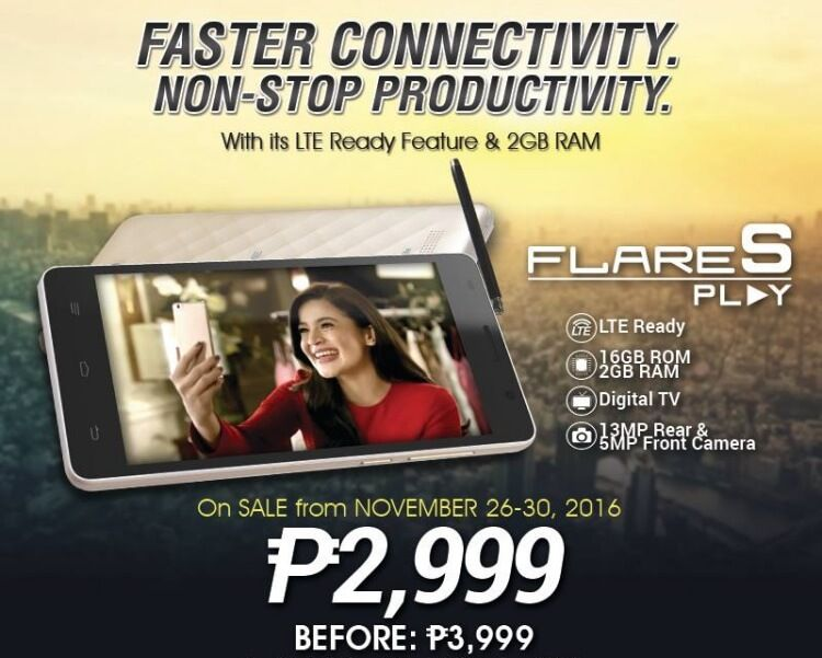 Deal Alert Cherry Mobile Flare S Play with octacore CPU