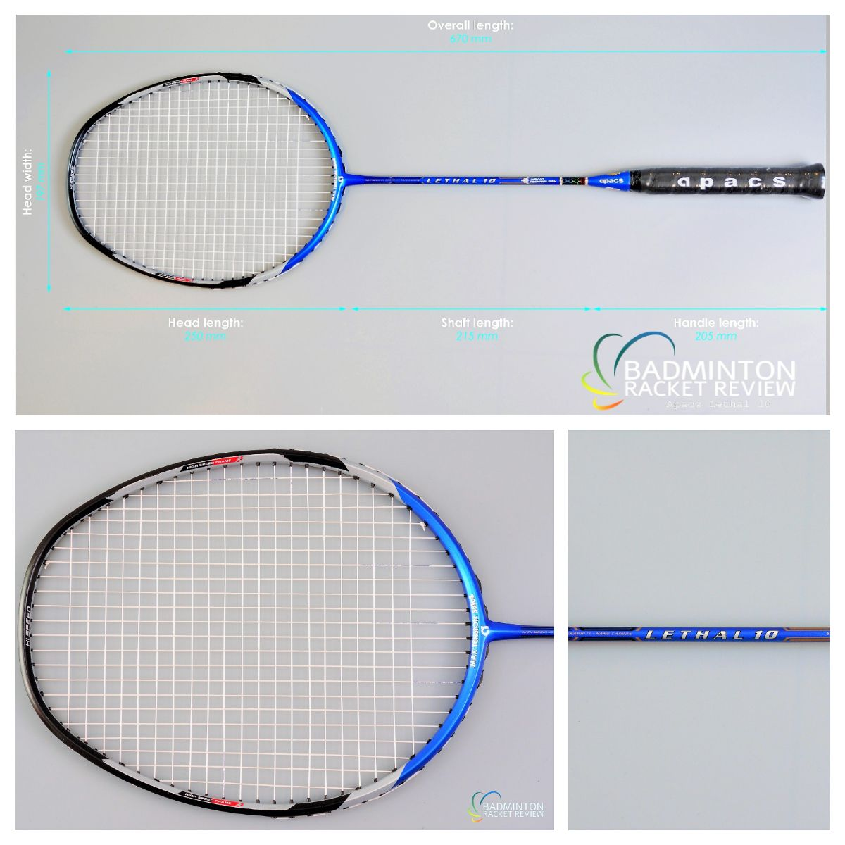 Apace Lethal 10 Badminton Racket Review Pictures To Find Out About This Racket S Performance And Over 570 Other Racket Go To Our Website And Hit The Badminto