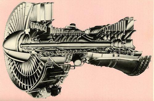 Turbo jet engine by Bennett 4 Senate, via Flickr. | Jet engines ...