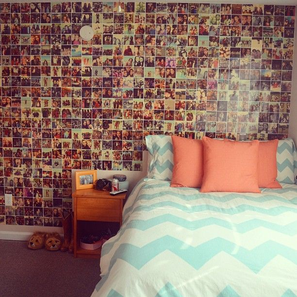 Cute And Cool Teenage Girl Bedroom Ideas Picture Wall   Great  Personalization In A Bedroom, Teen Girl, Teen Bedroom