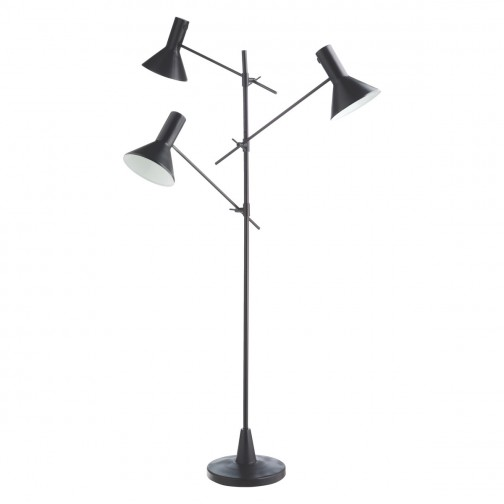 Nyx Black 3 Head Metal Floor Lamp In 2020 Metal Floor Lamps Floor Lamp Lamp