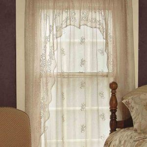 Heritage Rabbit Hollow Tree Of Life Lace Curtains