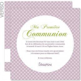 carte d invitation communion action