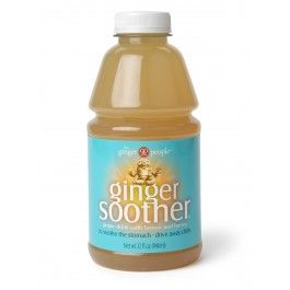 Ginger Soother - ginger and honey. Love hot or cold.