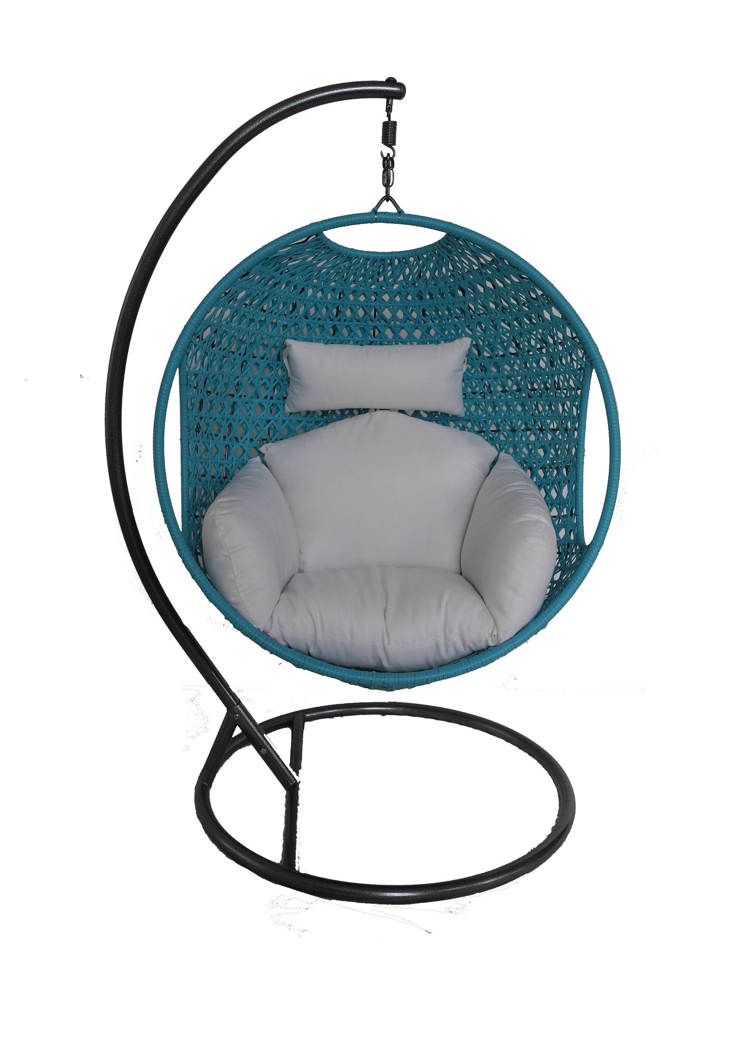 Garden Furniture Pod earth de fleur homewares - sorrento hanging pod chair rattan with