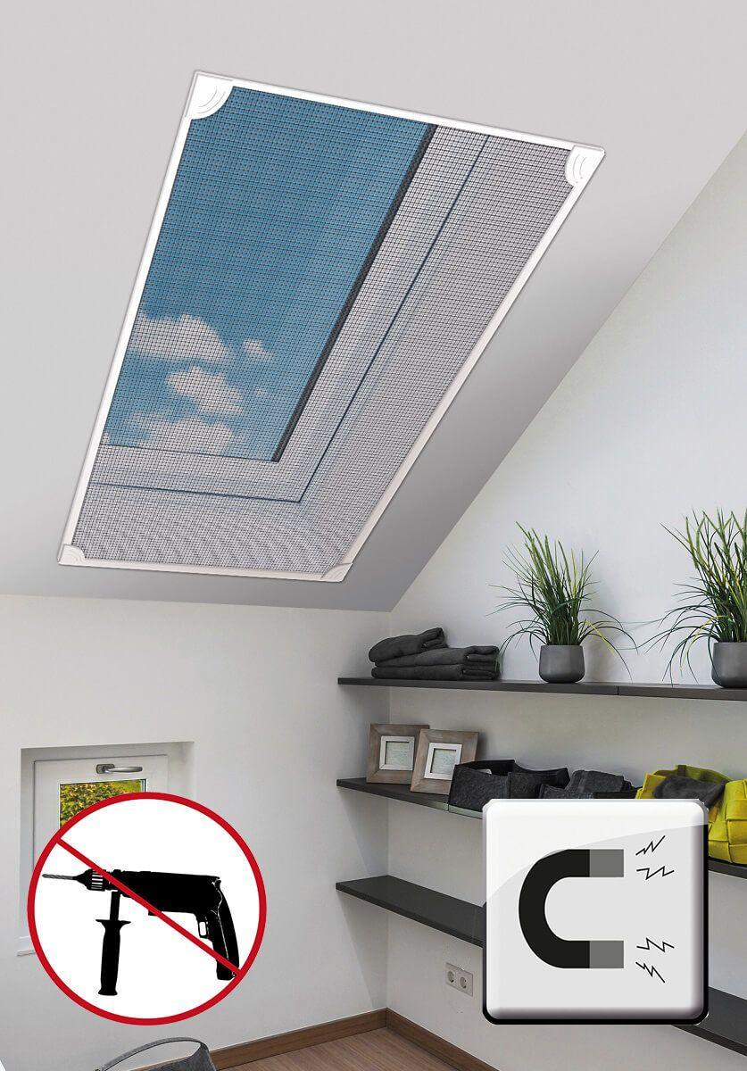 Dieses Fliegengitter Ist Perfekt Fur Velux Fenster Das Dachfenster Fliegengitter Schutzt Vor Mucken Flie Dachfenster Fliegengitter Gardinen Fur Dachfenster
