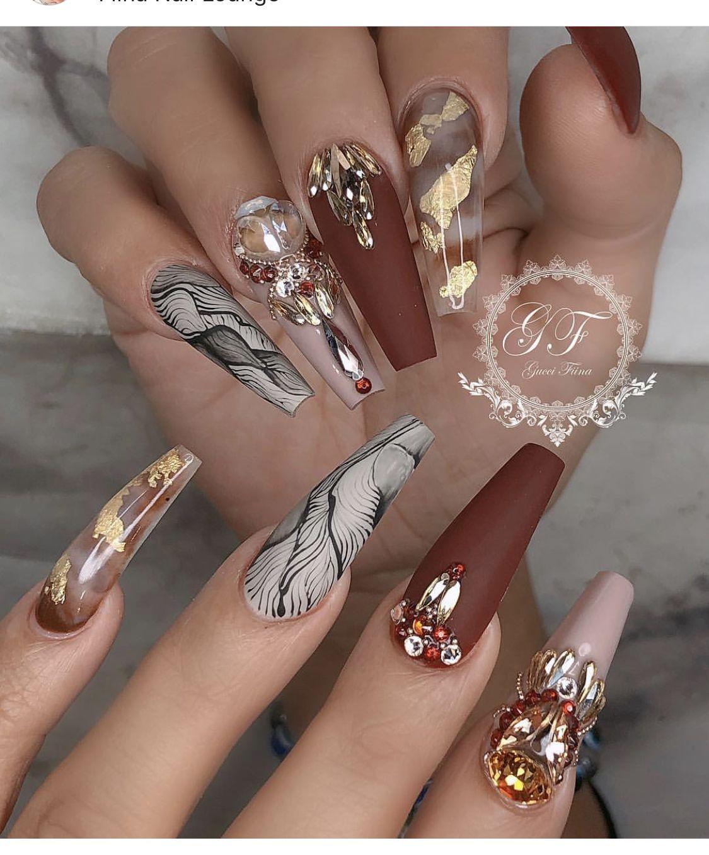 Cute Acrylic Nails, Luxury