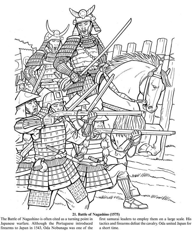 coloring page japanese samurai  inkspired musings Japan Poems