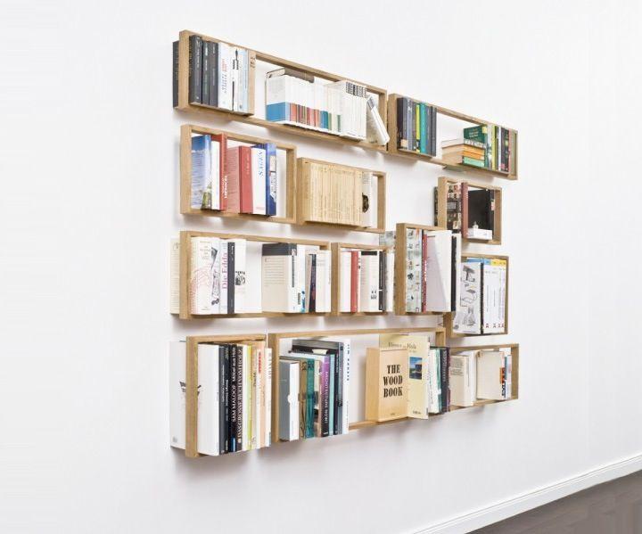 Top 8 Bookshelves | Regal, Bücherregale und Schweben