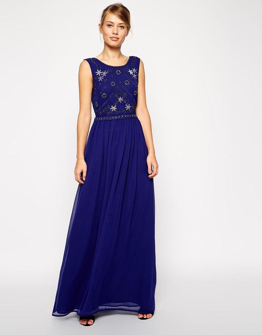 $77 Image 1 of ASOS Embellished Shell Maxi Dress | Dresses ...