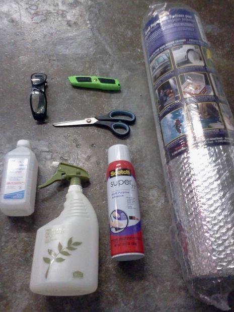 Make Your Garage Energy Efficient Easy Install Of Radiant Barrier