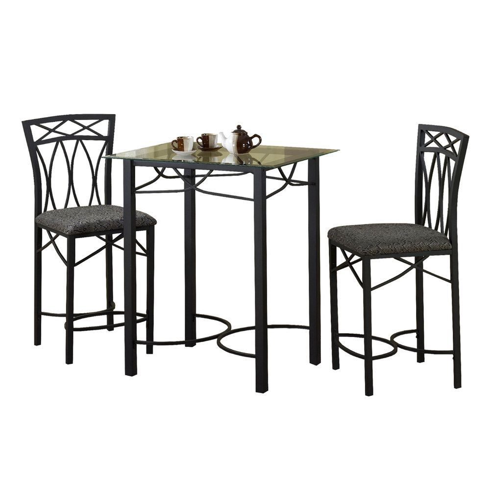 Outdoor 3-pc. Bistro Set, Grey | Bistro set, PC and Products
