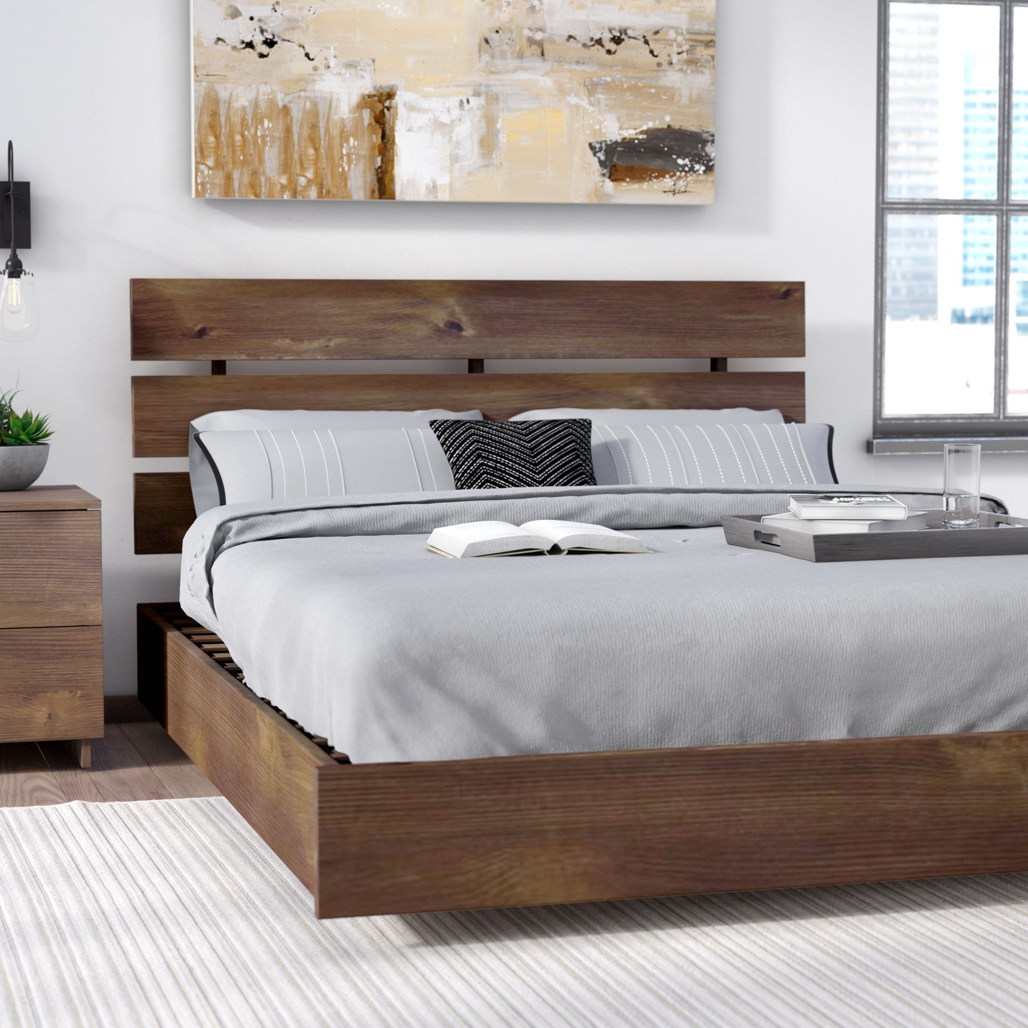 Massivholzbetten rustikal  Shondra Platform Bed | Room Plans | Pinterest | Platform beds ...