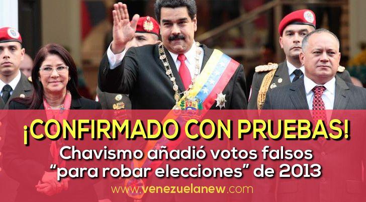 Las computadoras secretas de los chavistas lo indicaban bien claro. A las seis de tarde, la hora en que el 14 de abril de 2013 debían cerrar los centros electorales en Venezuela, las presidenciales...
