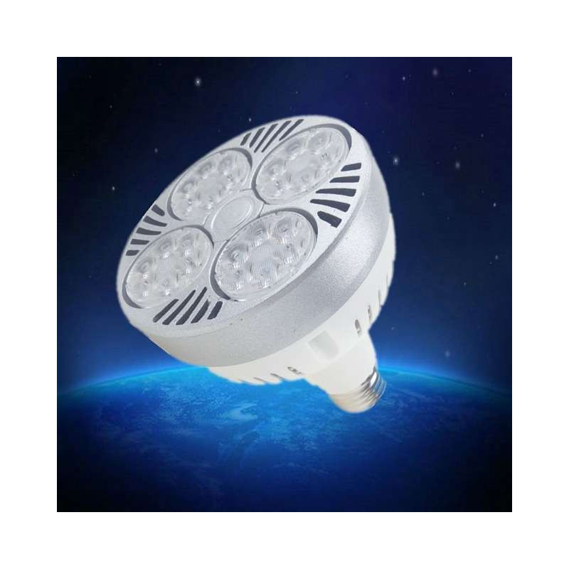 4pcs Led Par30 Lamp 35w Track Light Flood Light Bulb Par30 E27 Cob Osram Led Warm White Spot Lamp For Kitchen Cloth In 2020 Flood Lights Track Lighting Kitchen Clothes