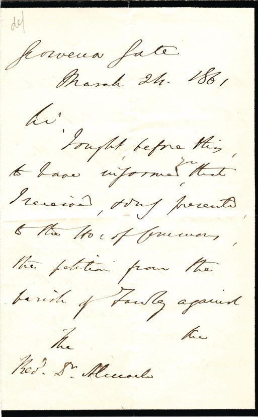 Disraeli Benjamin Autograph Letter Signed Unframed For Sale