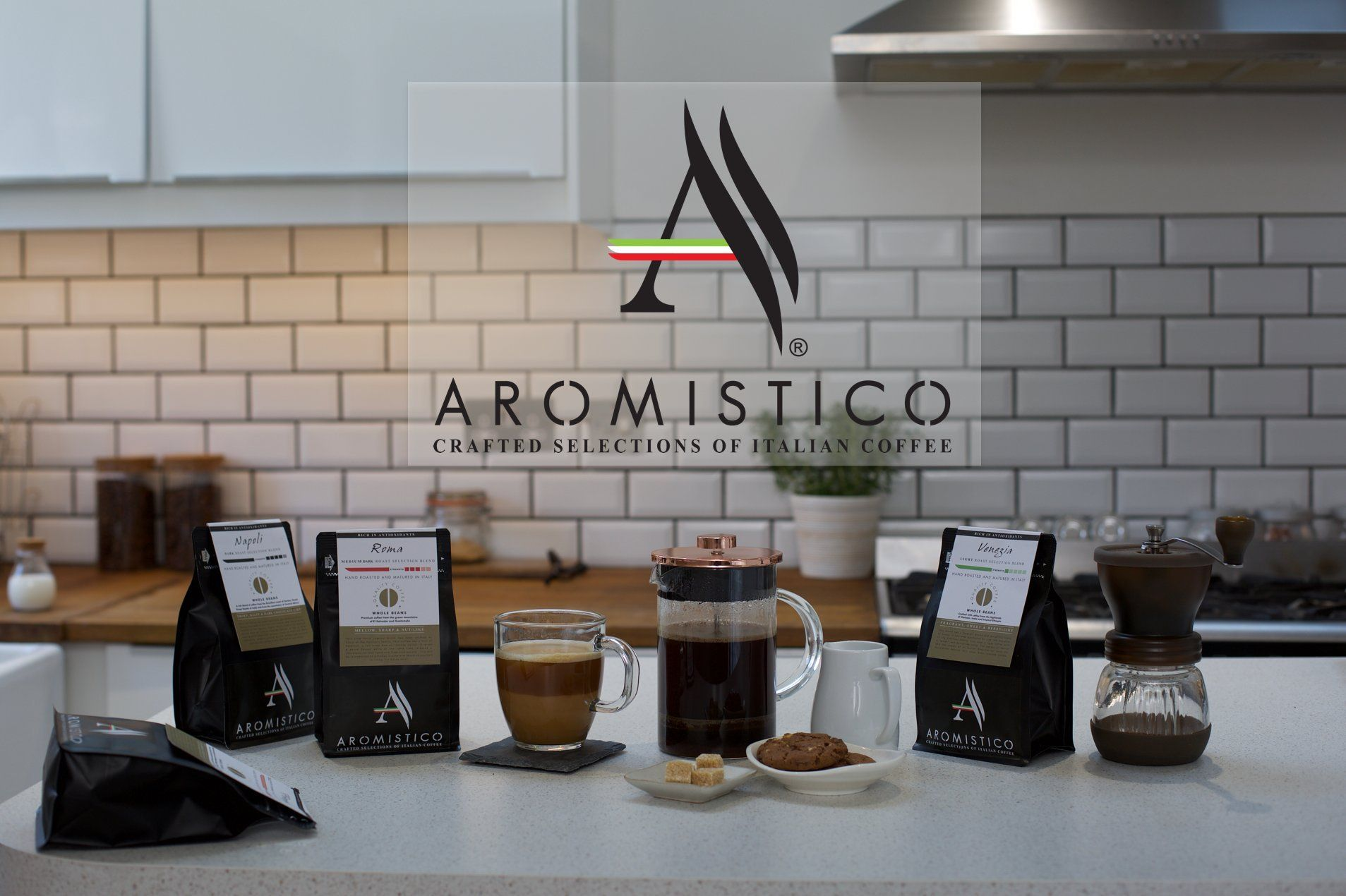 AROMISTICO COFFEE VARIETY CLASSIC COFFEE GIFT SET HAMPER