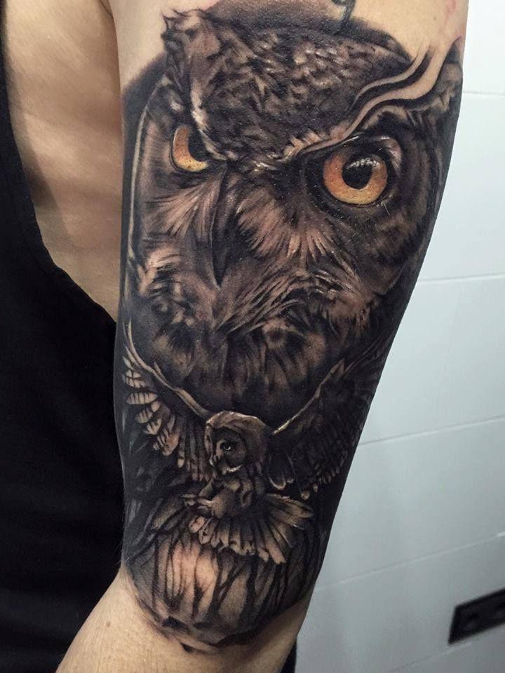 Resultado De Imagen De Dark Owl Tattoos Owl Tattoo Owl Tattoo Design Owl Eye Tattoo