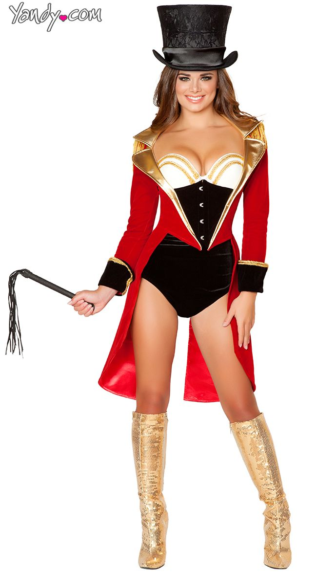 Halloween ideas · Deluxe Ringleader Costume  sc 1 st  Pinterest & Deluxe Ringleader Costume | Costumes Halloween costumes and Circus ...
