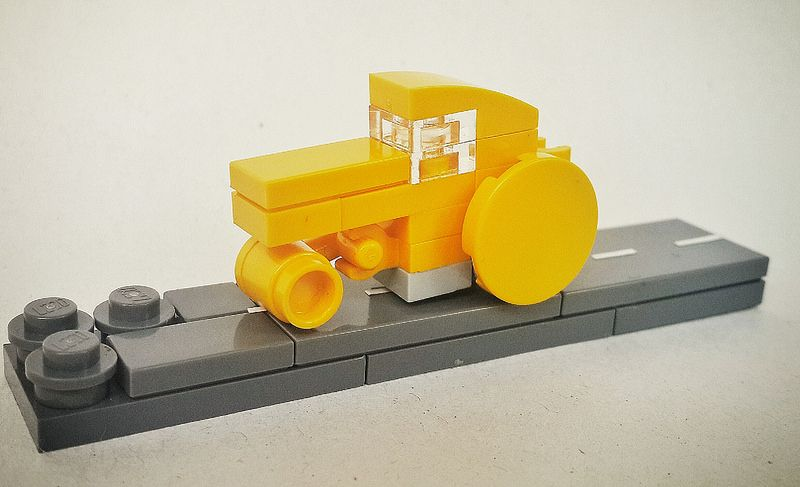 My MOC - Drum Roller | by donna liem