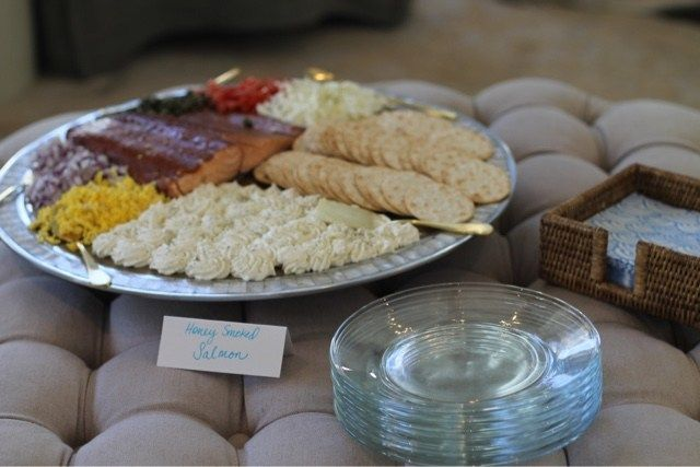Baby Shower for a Boy // Easy Finger Foods for a Party