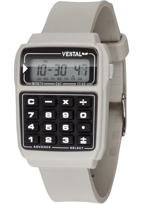 Vestal DAT010 Datamat Calculator - Pewter
