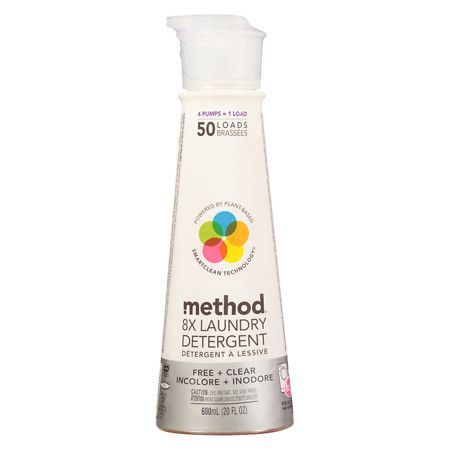 Method Laundry Detergent 50 Loads Free Clear Method Laundry