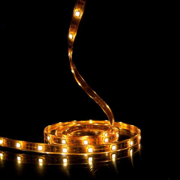 12 In Warm White Led Tape Light 2835 60 Ip65 Ww1203n Led Tape Lighting Led Strip Lighting Strip Lighting