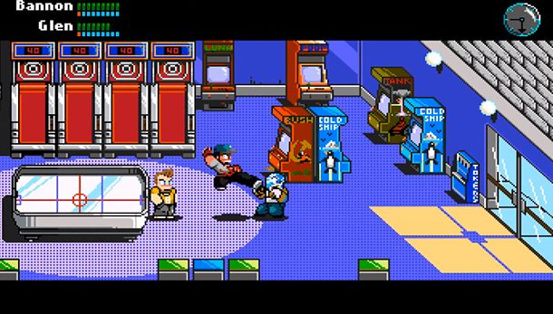 River City Ransom Underground Retro Art Pixel Ransom