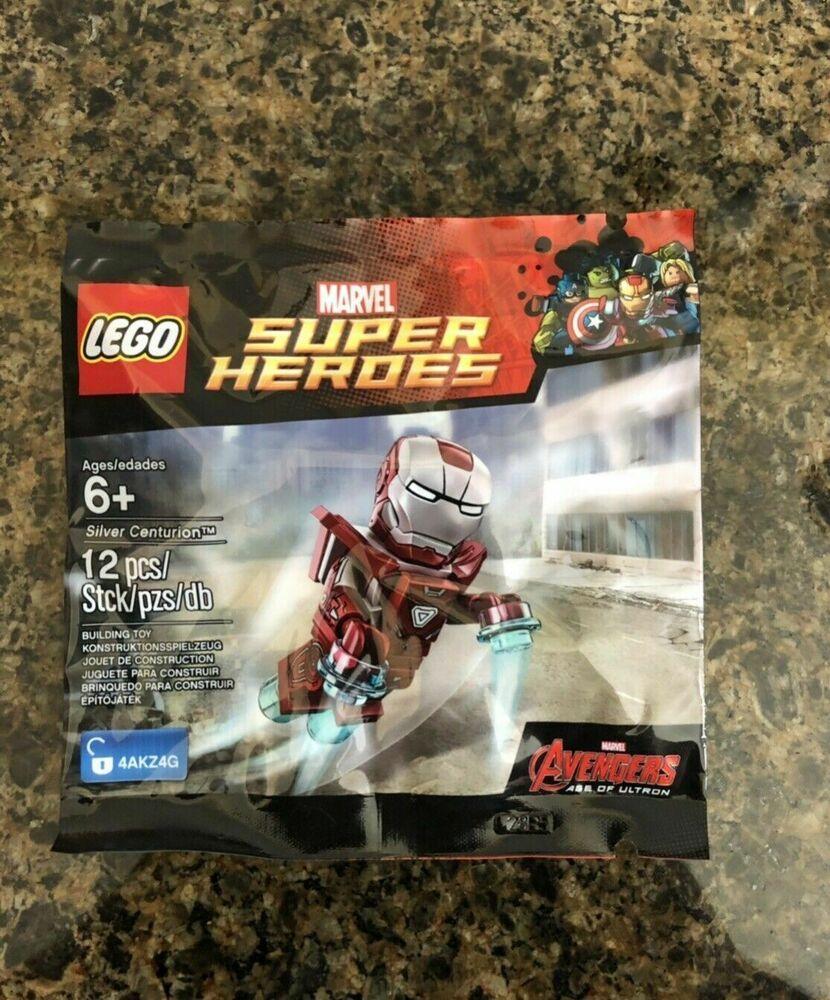Iron Avengers Lego Marvel Man End Centurion Silver Game New 5002946 pMUVSz