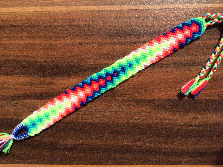 Thread Friendship Bracelet.woven bracelet.Knot spring ...