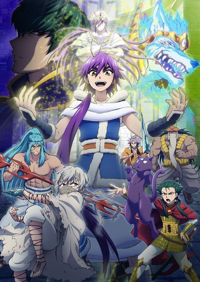 El Manga Magi Sinbad no Bouken tendrá Anime para