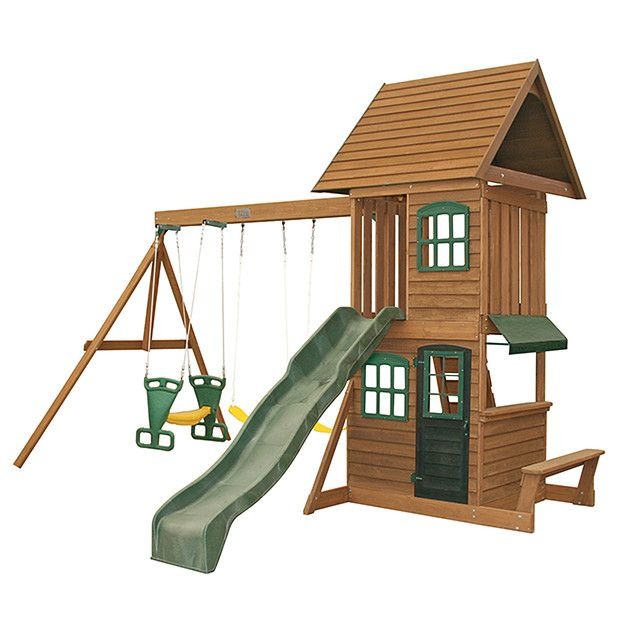 Big Backyard Southbank Wooden Play Set Target Australia Big