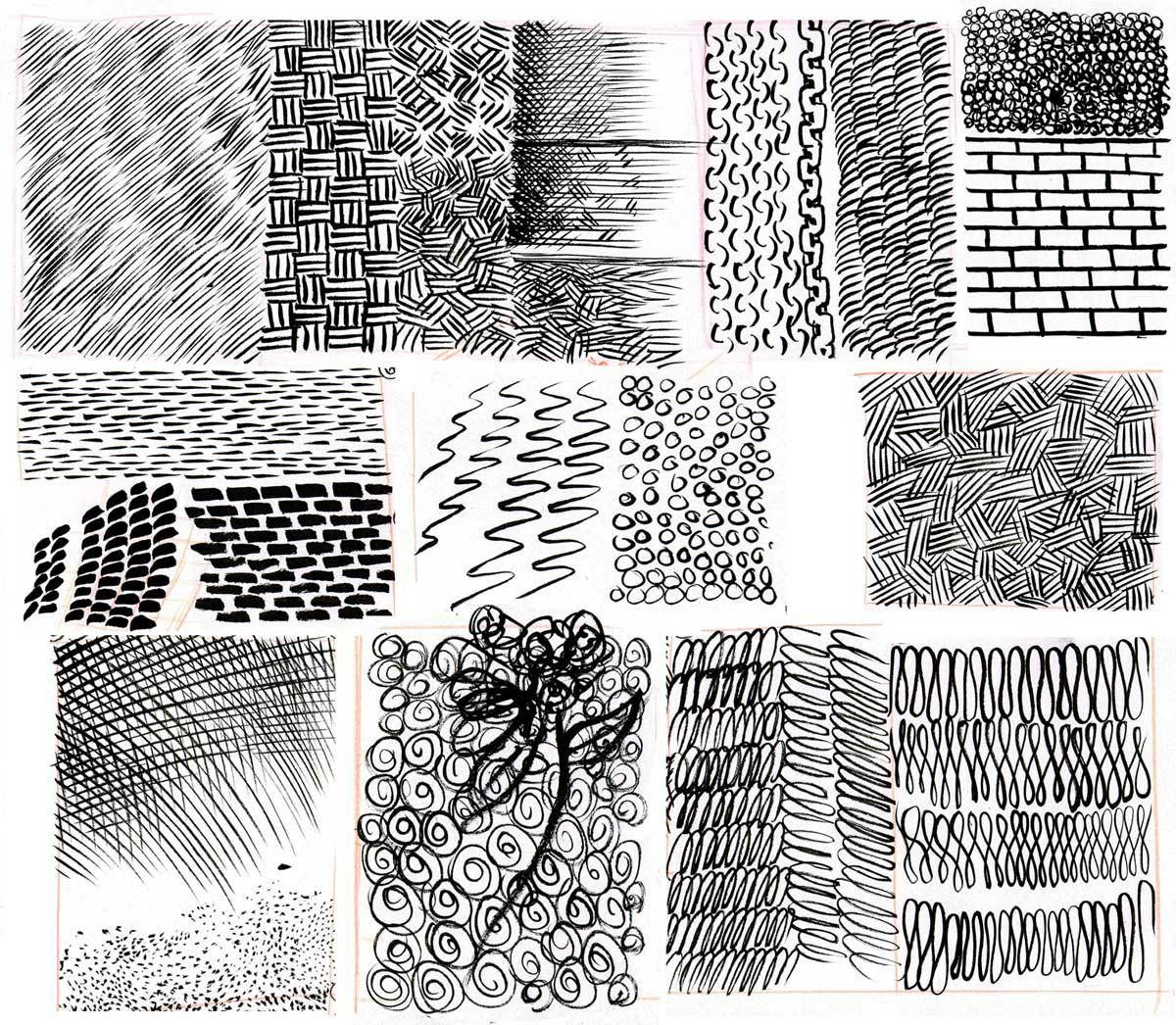 Pattern Amp Rendering Exercises Go Here For General Line