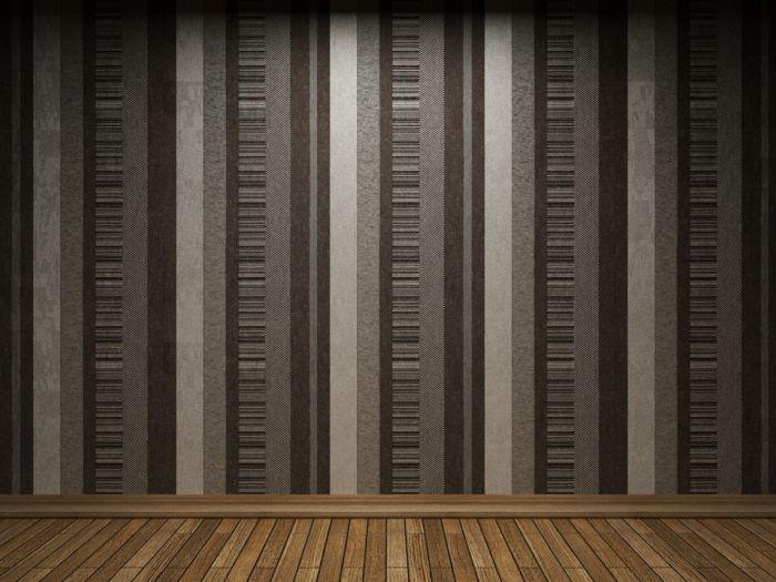 waende gestalten wandgestaltung farbgestaltung streifen braun pinterest wandmuster kreative. Black Bedroom Furniture Sets. Home Design Ideas