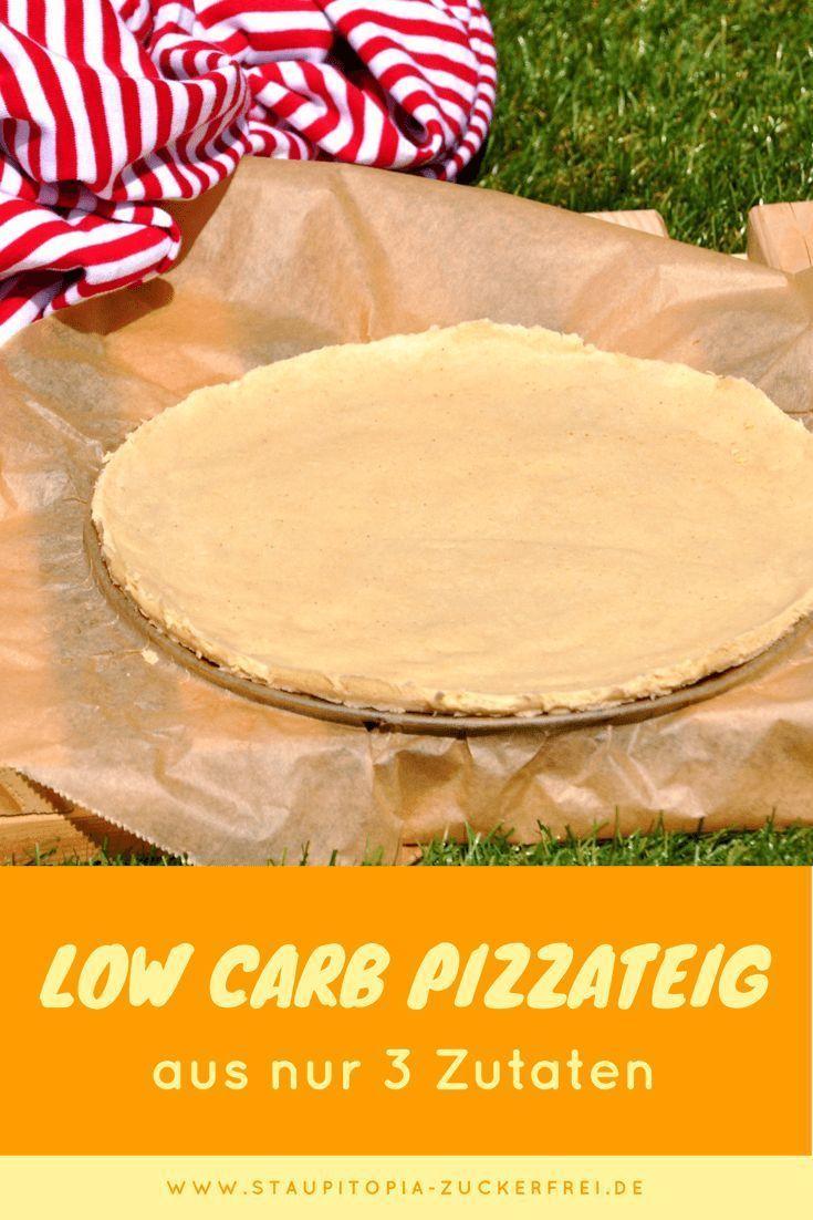 Wie du einen Low Carb Pizzaboden au