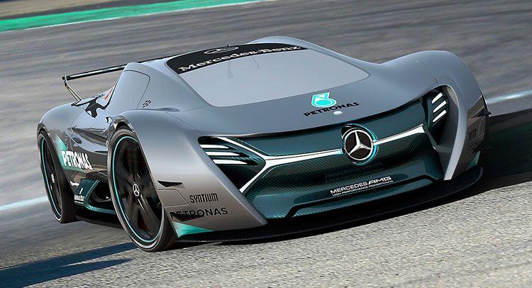 Mercedes Benz Elk Fits The Future Ev Supercar Bill Mercedes Electric Futuristic Cars Super Cars