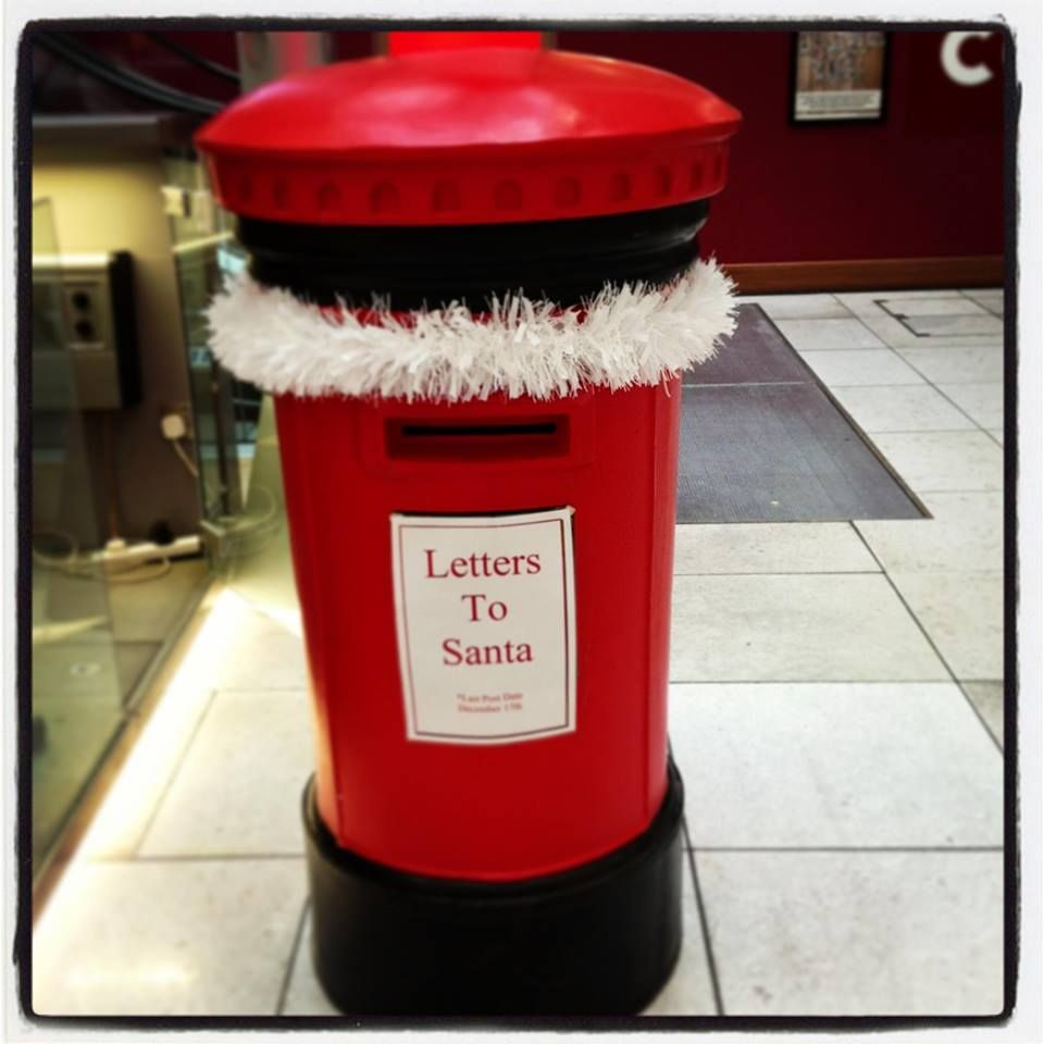 Our Very Own Post Box For Santa's Letters