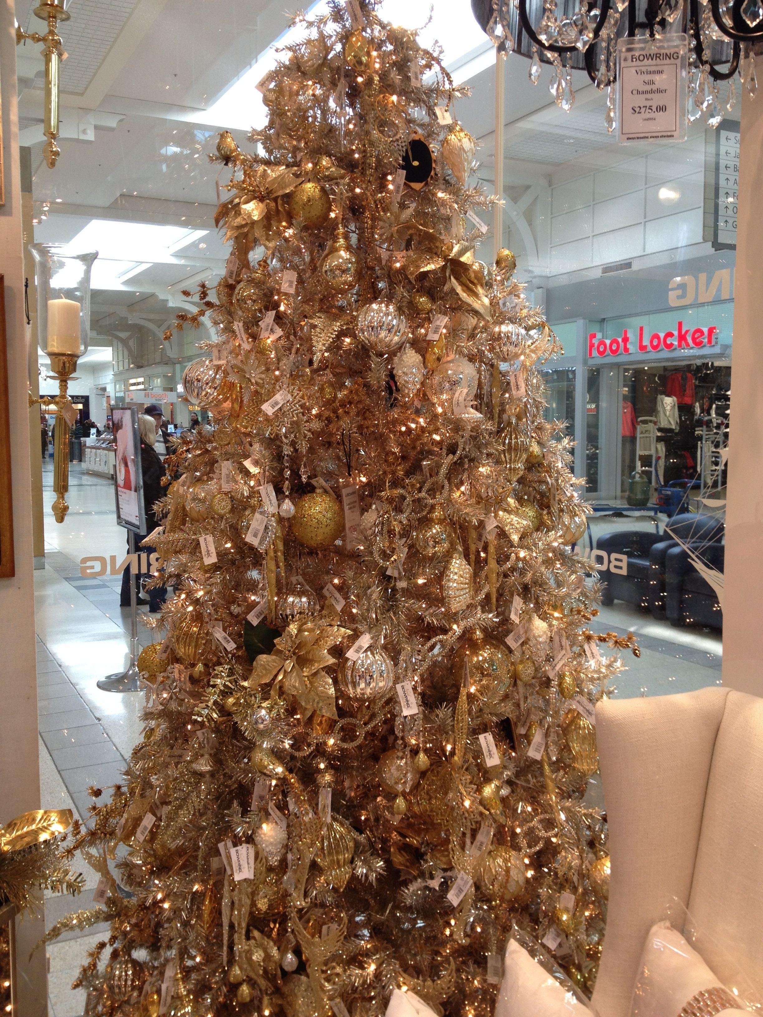 Christmas Tree Goals Bowring