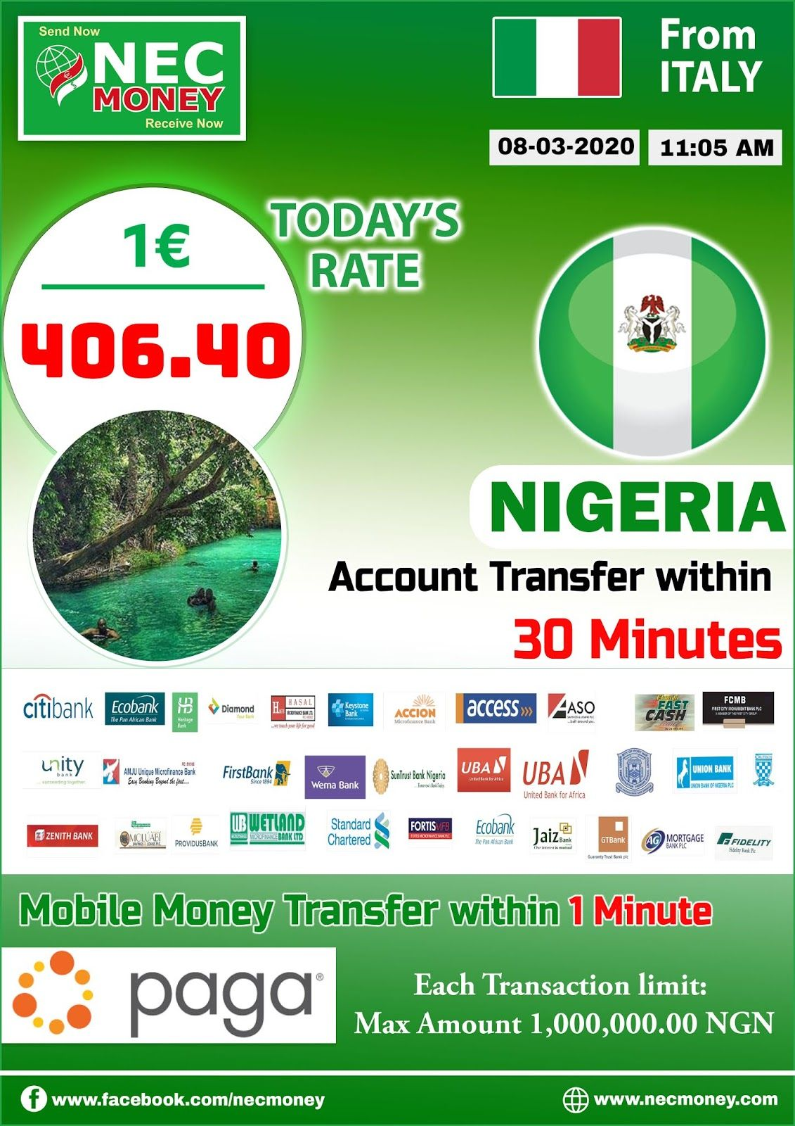 Ignition Money Transfer