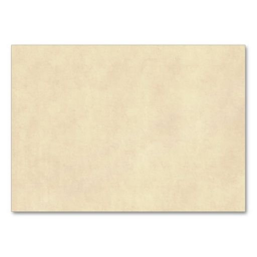 Vintage Neutral Parchment Old Paper Template Blank Business Card - blank card template