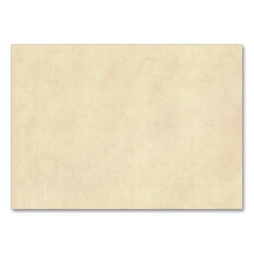 Vintage Neutral Parchment Old Paper Template Blank Business Card - blank business card template