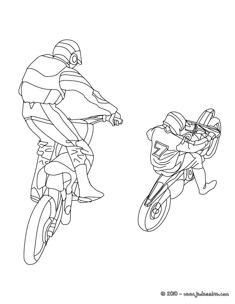 dessin freestyle motocross - Recherche Google | dessin motocross ...