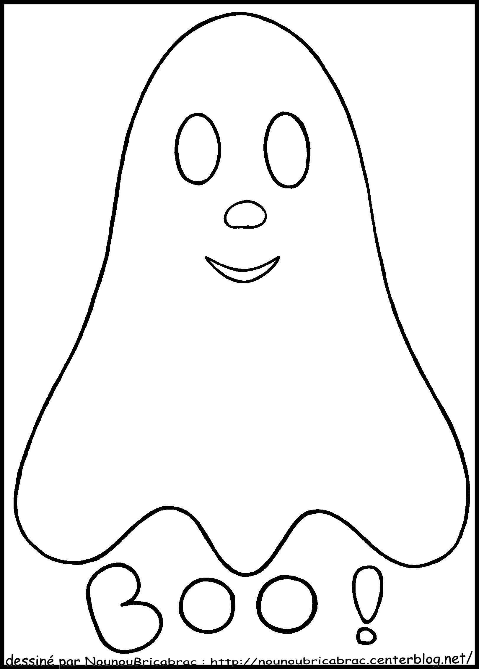 Fantome Dessin Facile