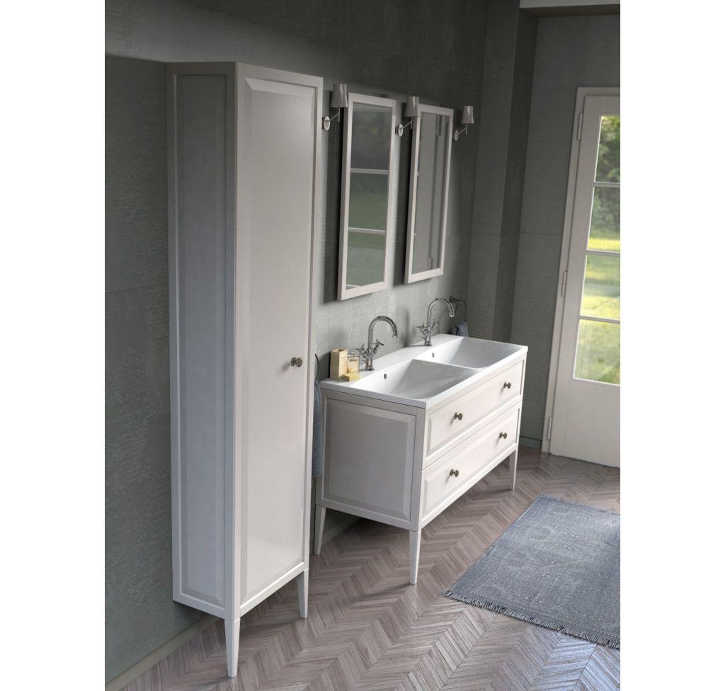 Stylowe Meble Lazienkowe Oristo Kolekcja Montobianco Szafki Dostepne Z Uchwytami W Kilku Kolorach Oristo Wnetrzazesma Bathroom Vanity Vanity Double Vanity