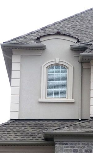 Stucco repair 300 495 nhi exterior - How to repair exterior window trim ...